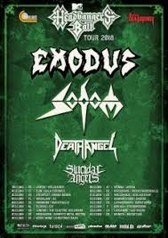 Exodus, Sodom, Death Angel, Suicidal Angels (Wiesbaden 2018)